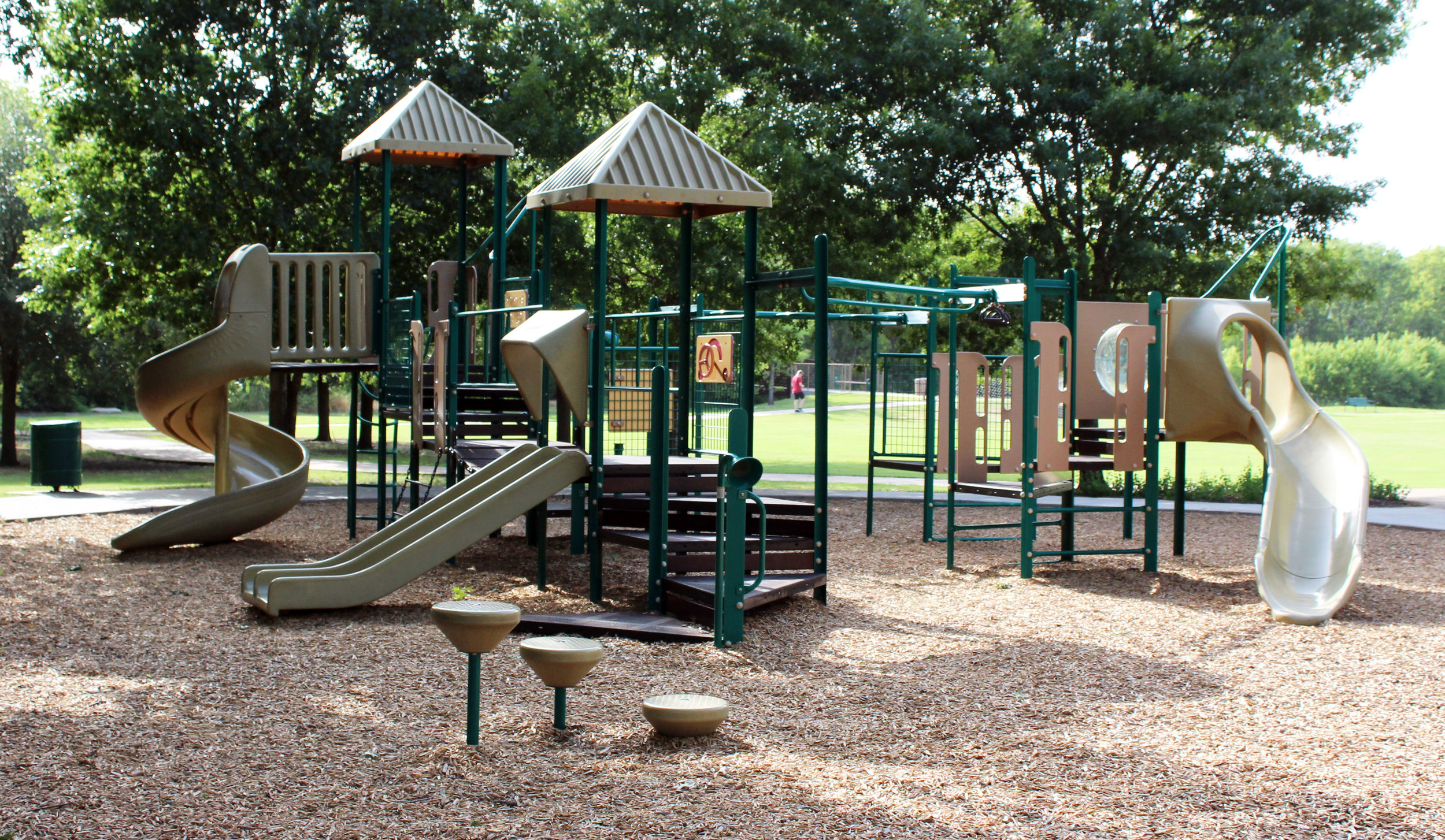 Current playground at Waters Edge Park.