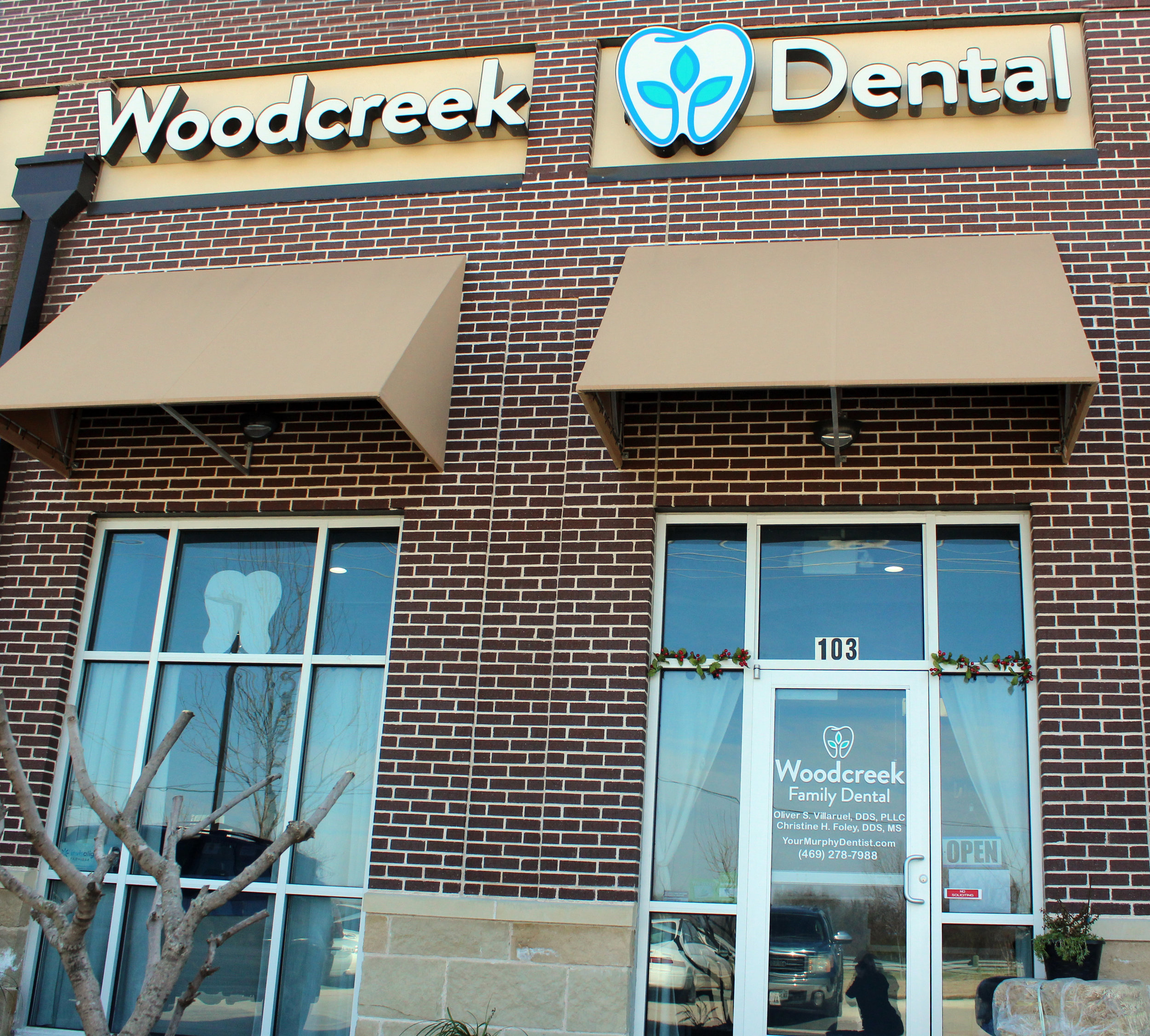 Woodcreek Family Dental is located at 410 West FM 544, suite 103 in Murphy.