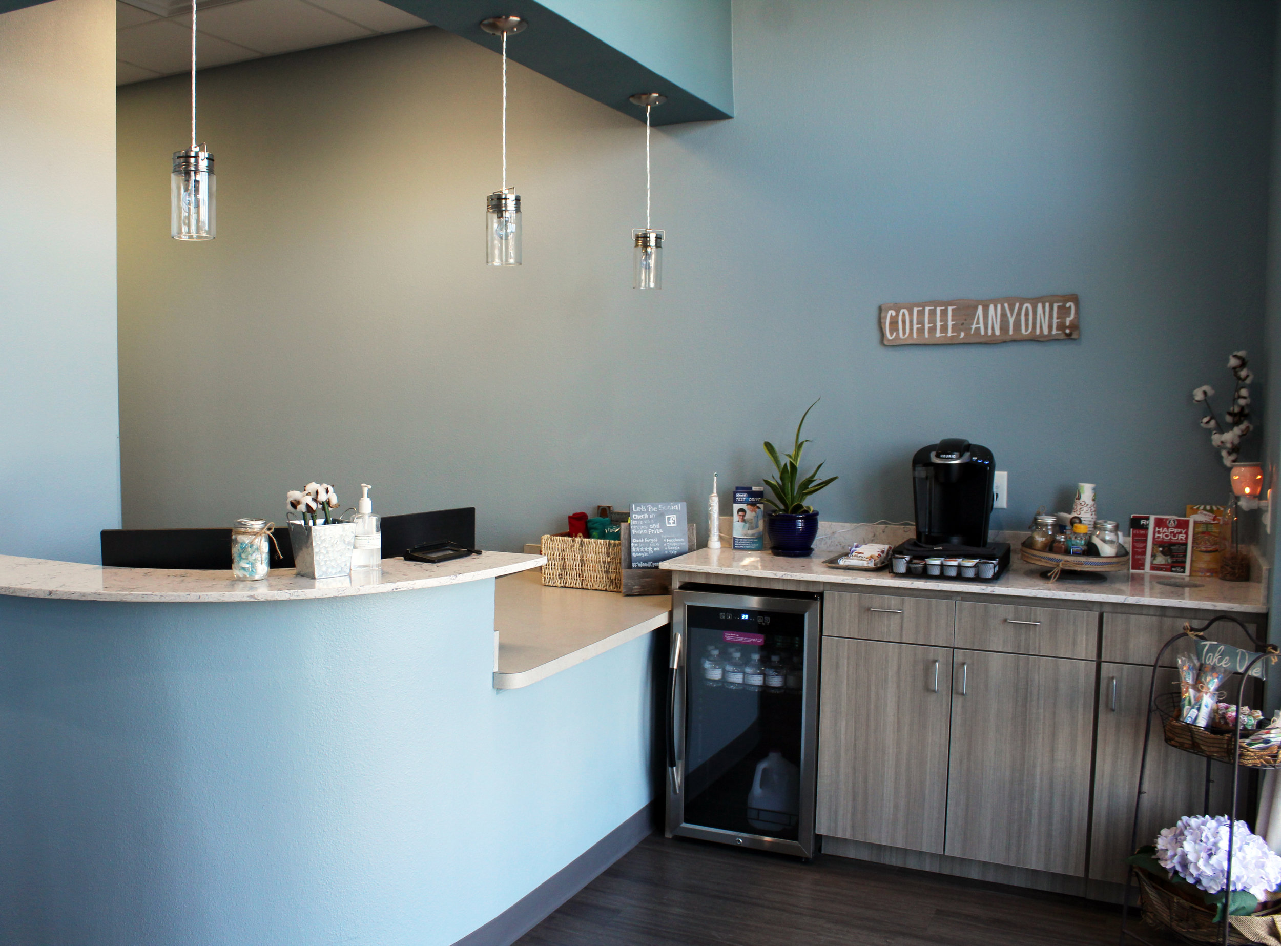 Woodcreek Family Dental accepts all major insurance plans and offers an in-house membership plan for those who don't have dental insurance.
