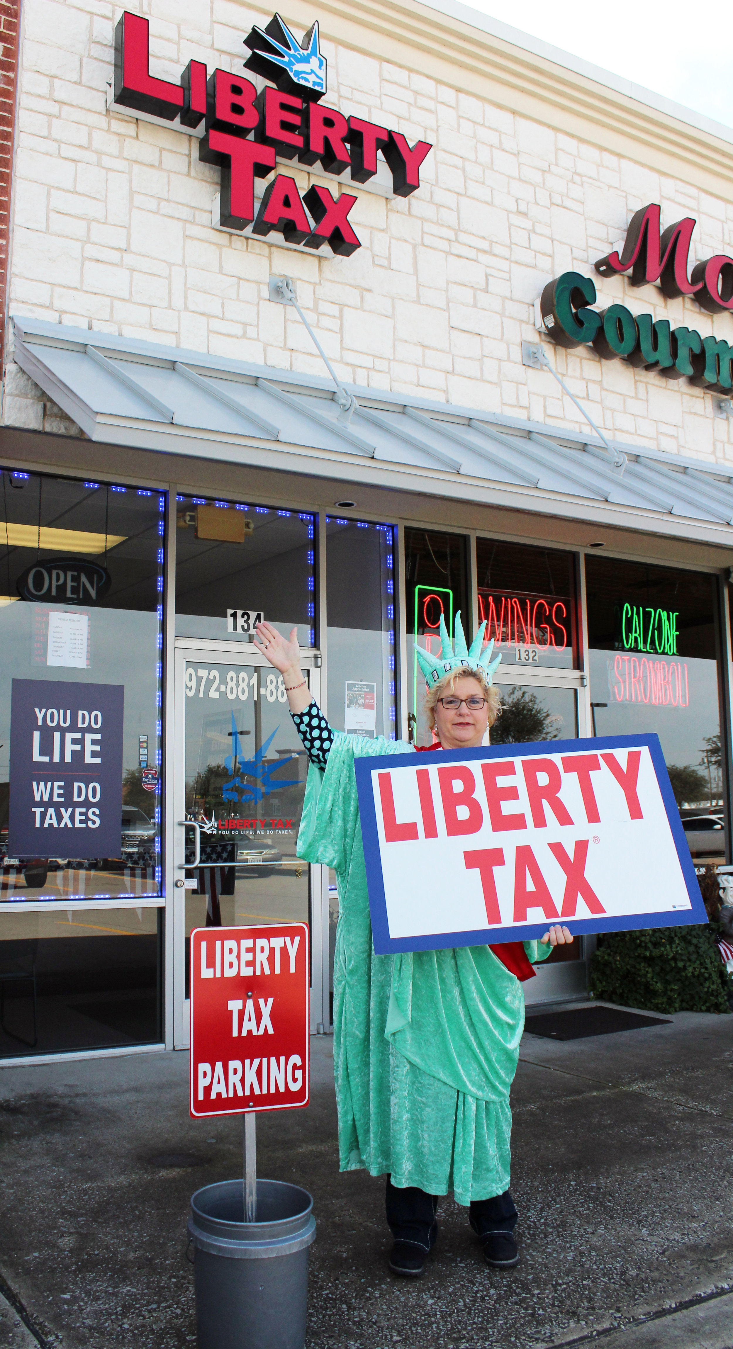 Liberty Tax Service is located at 158 W. FM 544, #134. (From left) Andy Deetz, Barbara Mortonson (office manager and Murphy resident) and Kim Deetz.