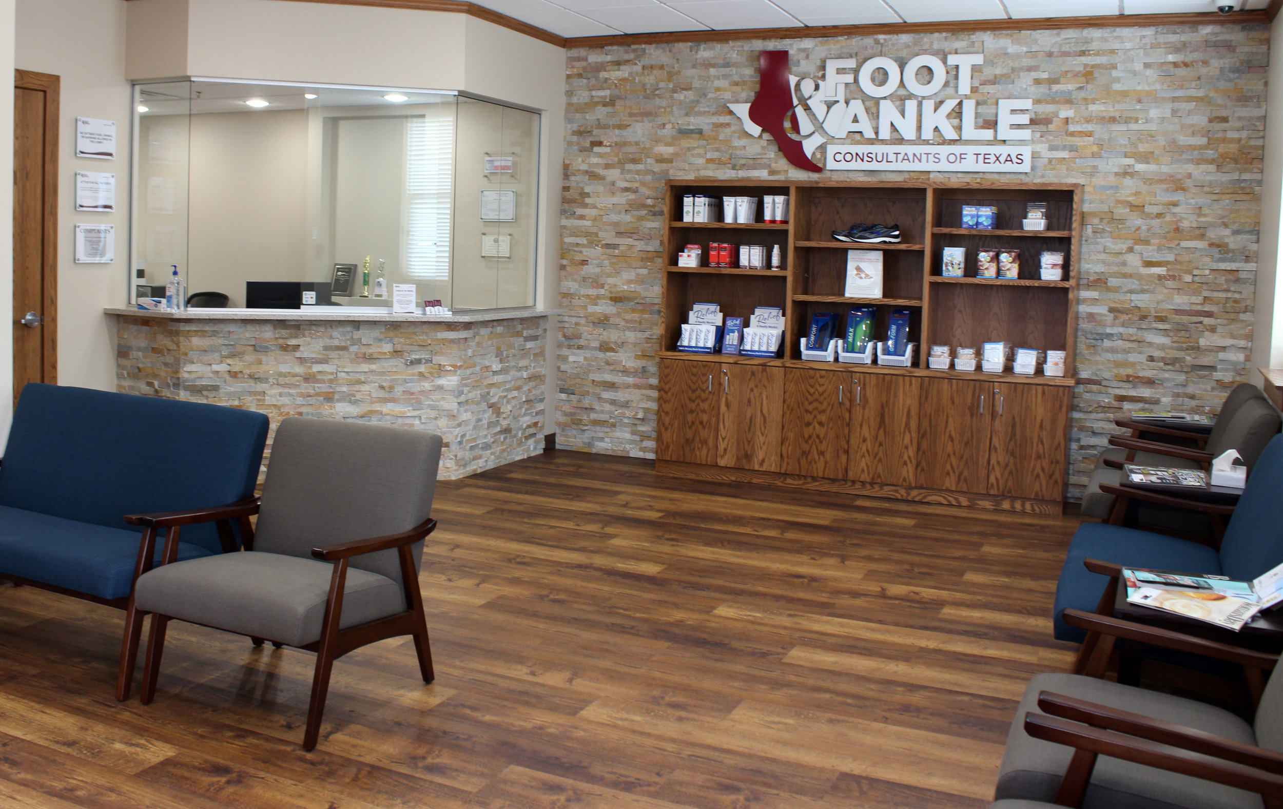 Foot ankle interior reception.jpg