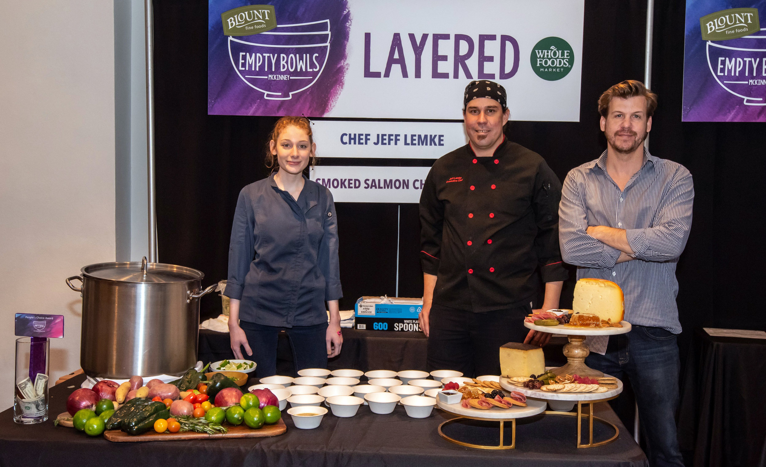Serve: 15 food vendors will serve  chef prepared gourmet soups.  Photo by Mark Bishop.