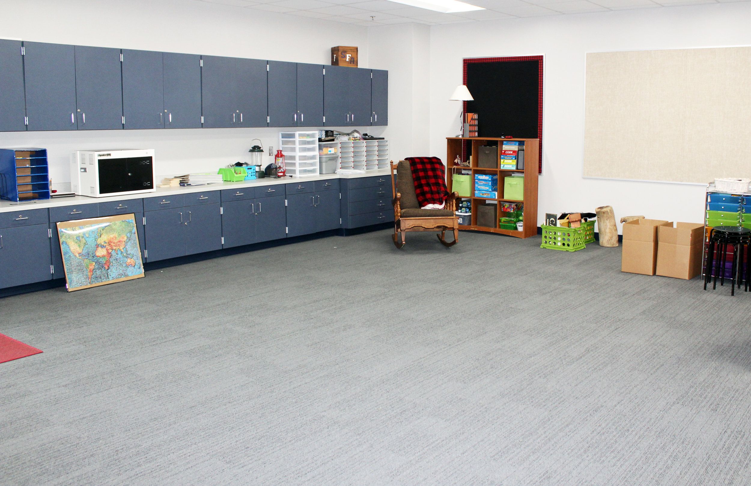 Six new classrooms were completed at Tibbals Elementary at the end of the 2018 - 19 school year. They will be used as classrooms for the first time when school resumes on Aug. 15, 2019.