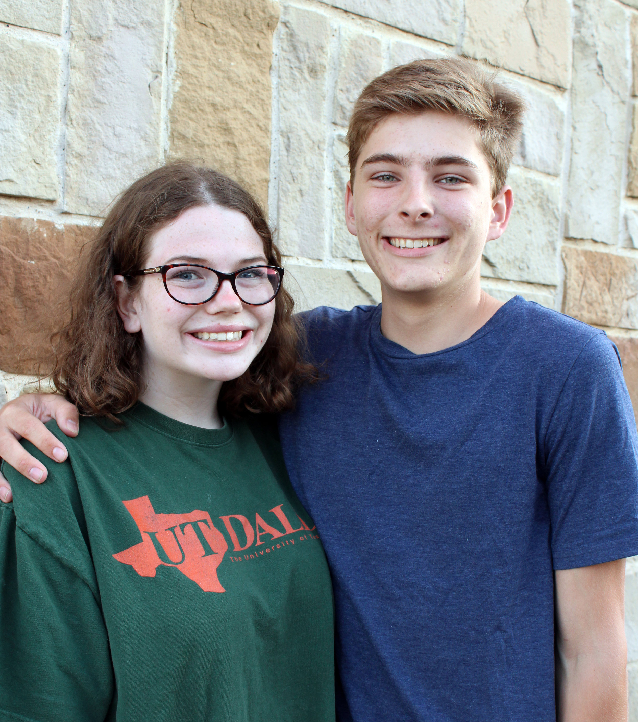 """Murphy residents, Abby Atwell and Wyatt Ames are producing the musical, """"Catch Me if You Can""""."""