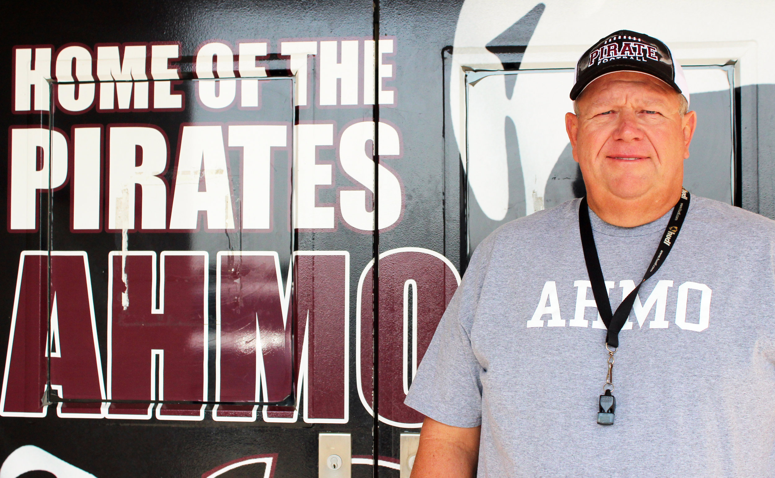 """Coach Bill Howard said, """"We live in a great town, we have a great school and great administration. I love my players and my coaches. When you're blessed, it's easy to be motivated."""""""