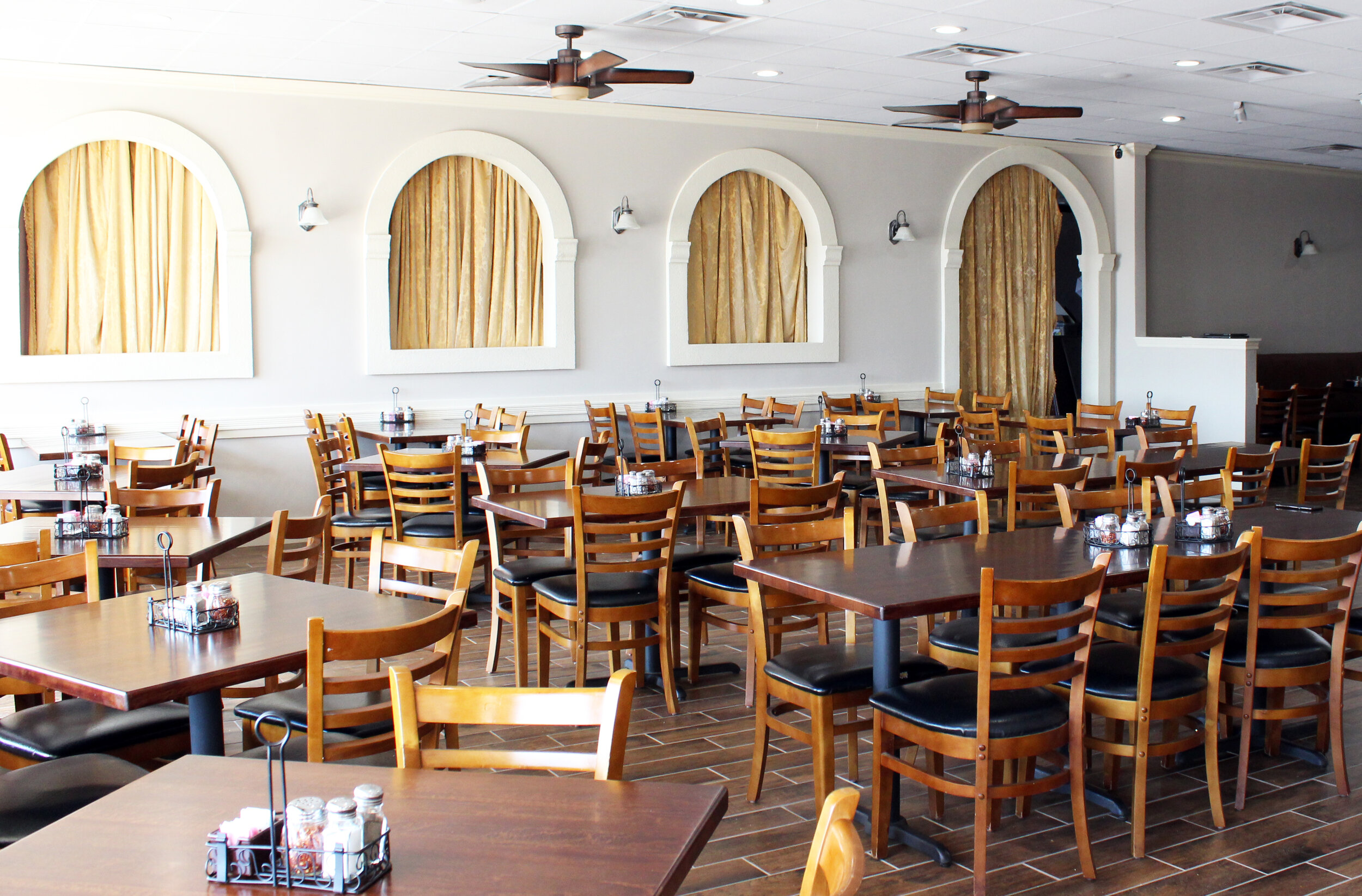 Come and enjoy the recently renovated Napoli's Italian Restaurant.
