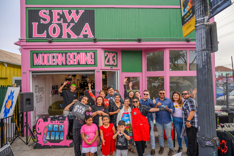 It takes a community …Barrio Logan, San Diego 2019