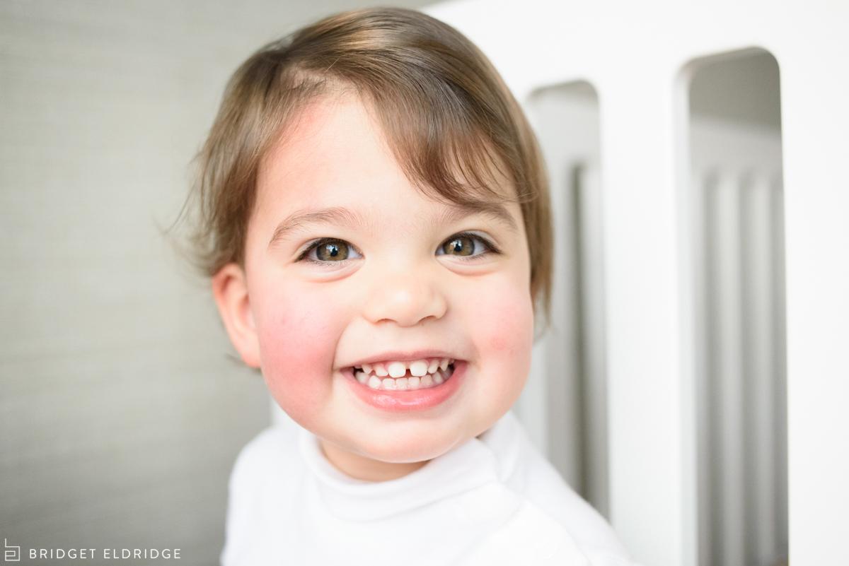 portrait of a little girl in alexandria, va