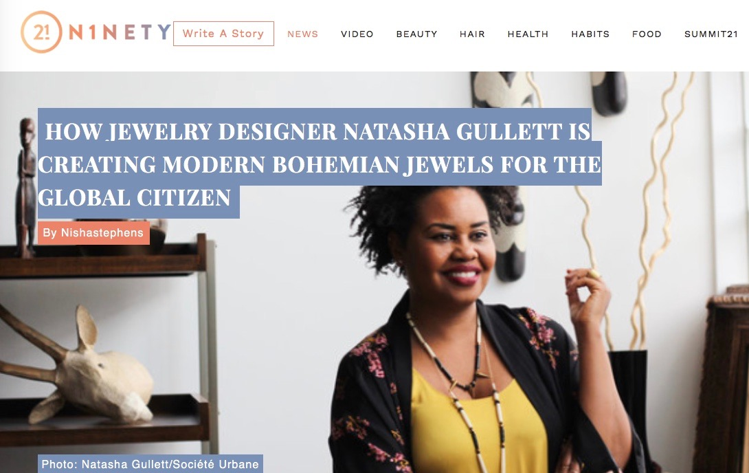 "BLAVITY FEATURE ""21 NINETY"" FEATURED ENTREPRENEUR  http://go2l.ink/Societe"