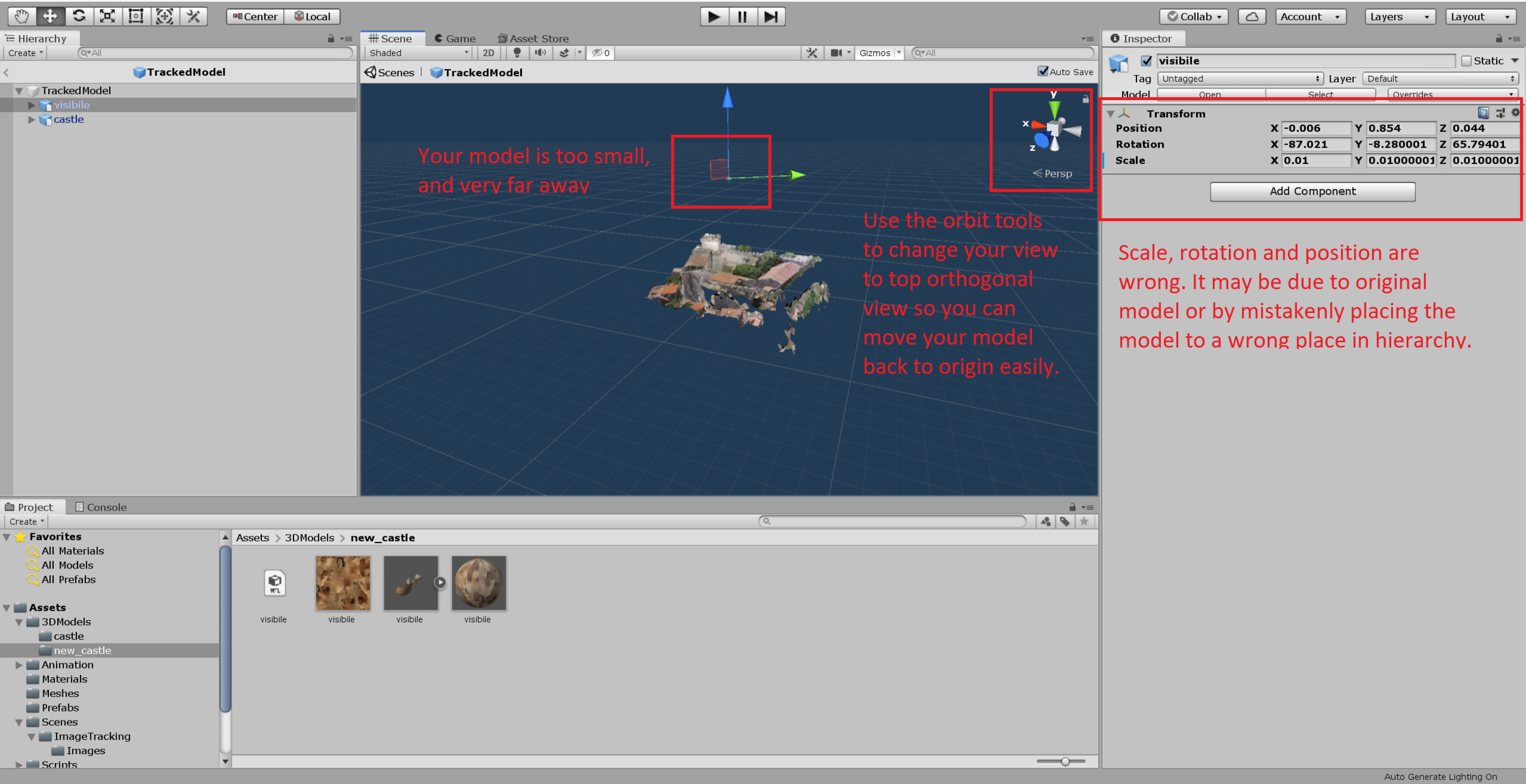 Tutorial: Viewing your models in Augmented Reality using