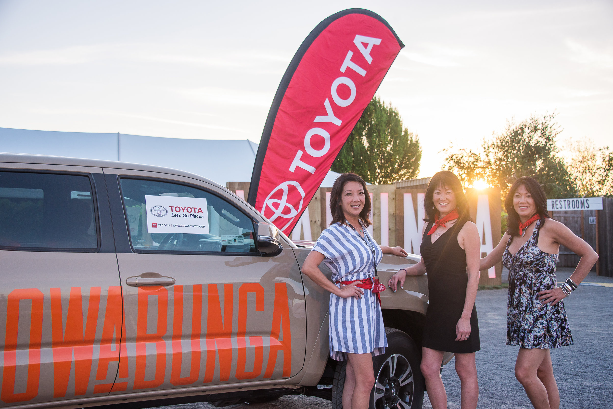 TITLE SPONSOR – SOLD - Thank you to Toyota for hosting as the Title Sponsor for Cowabunga.
