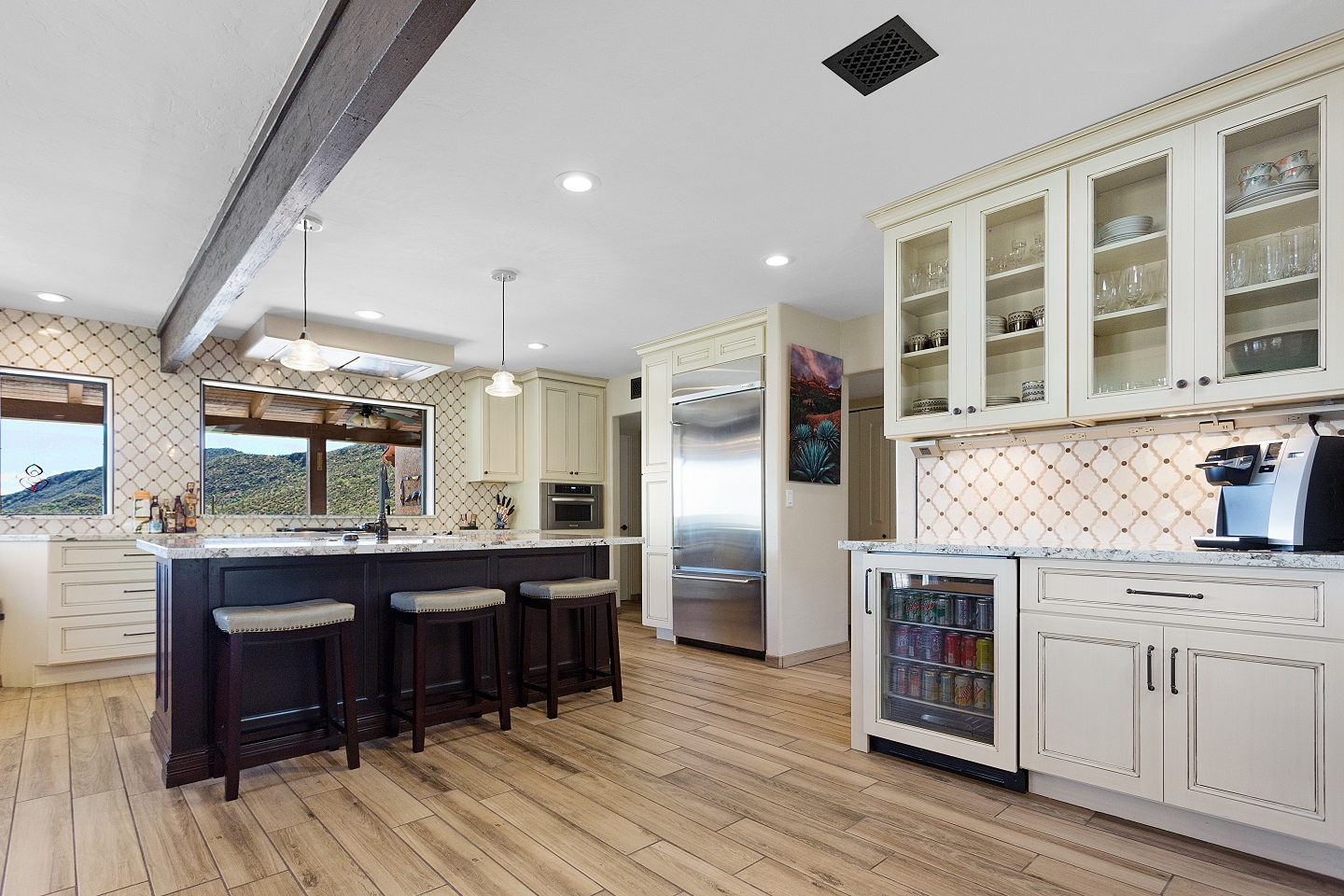 Collaboration with Kitchen Designer: Laura Wallace of Southwest Kitchen & Bath, and Photography by KC Creative Design Photography