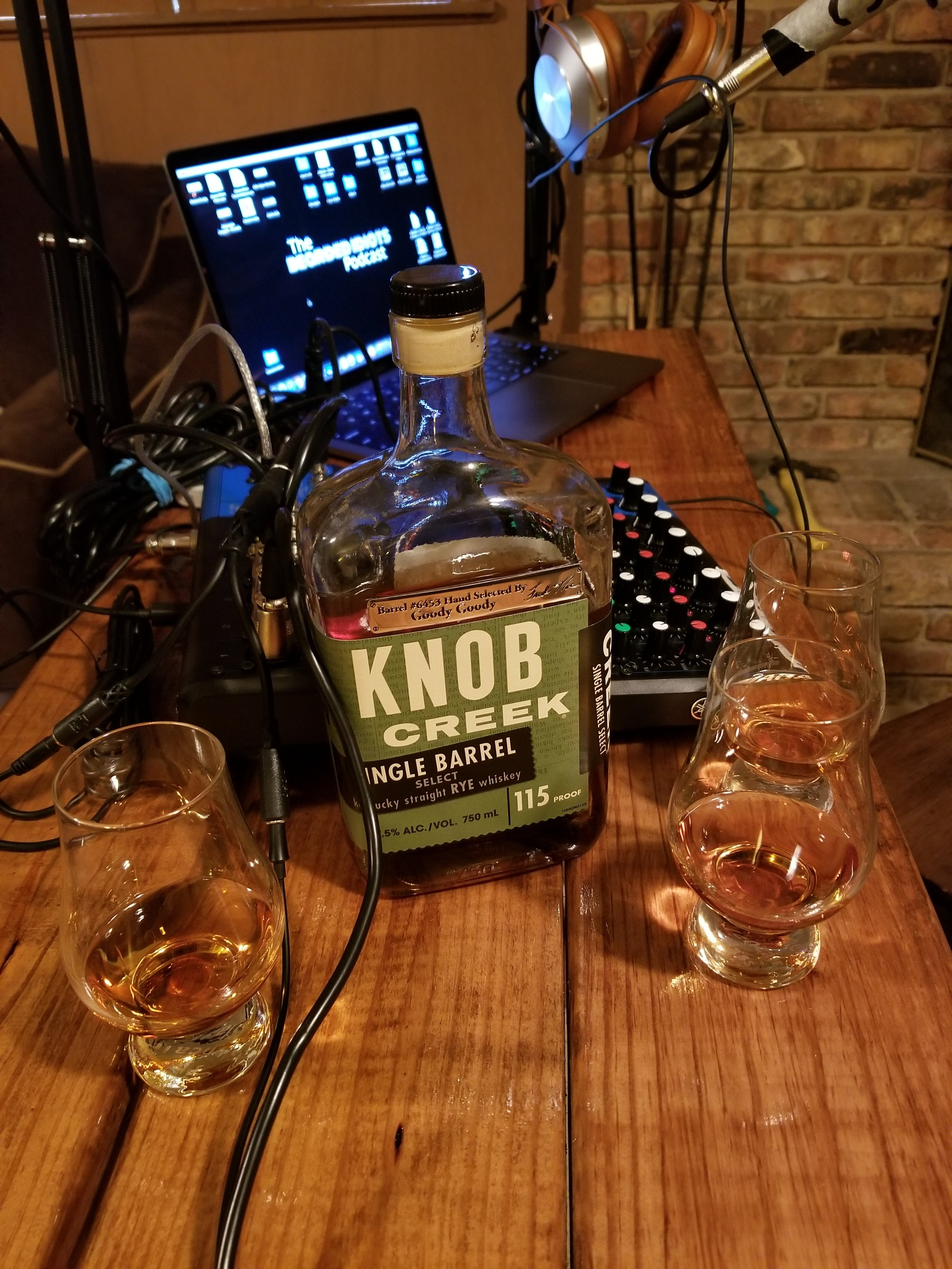 Episode the 11th - Knob Creek review, a crazy lady, agreeing to disagree, hair (in all forms), a terrible mother, and scary childhood movies