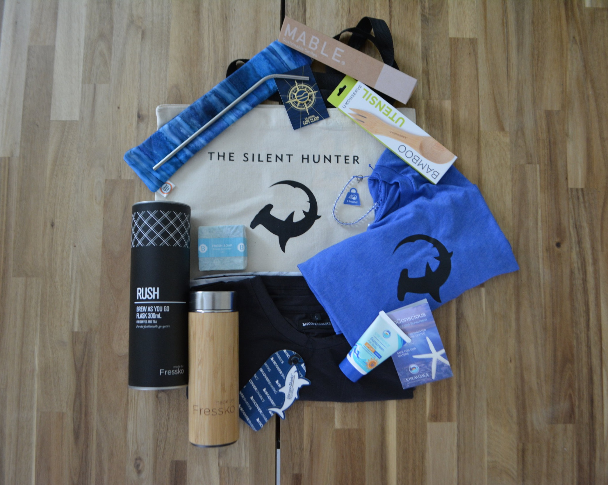 The expedition ecofriendly goodie bag