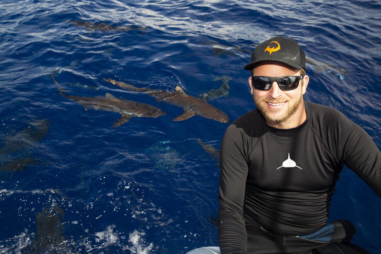 Silent Hunter - Annie Dr Tristan Guttridge -Mathew Potenski - Sharks - Shark - Hammerhead - The Bahamas - Andros - Shark Diving - Eco - Eco Tourism - Silky Shark .jpg