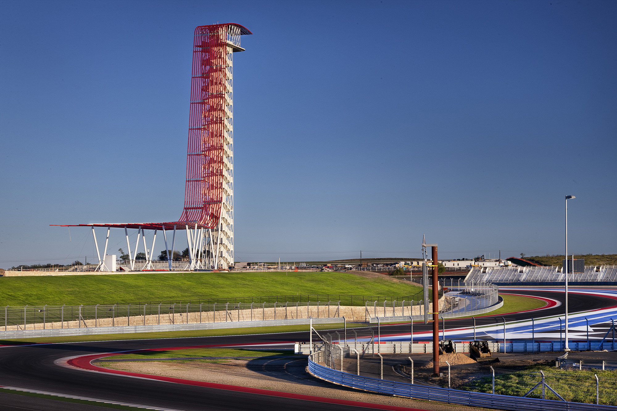 """Named the """"Most Instagrammed"""" location in Texas, the Observation Tower at Circuit of The Americas has become an iconic local landmark."""