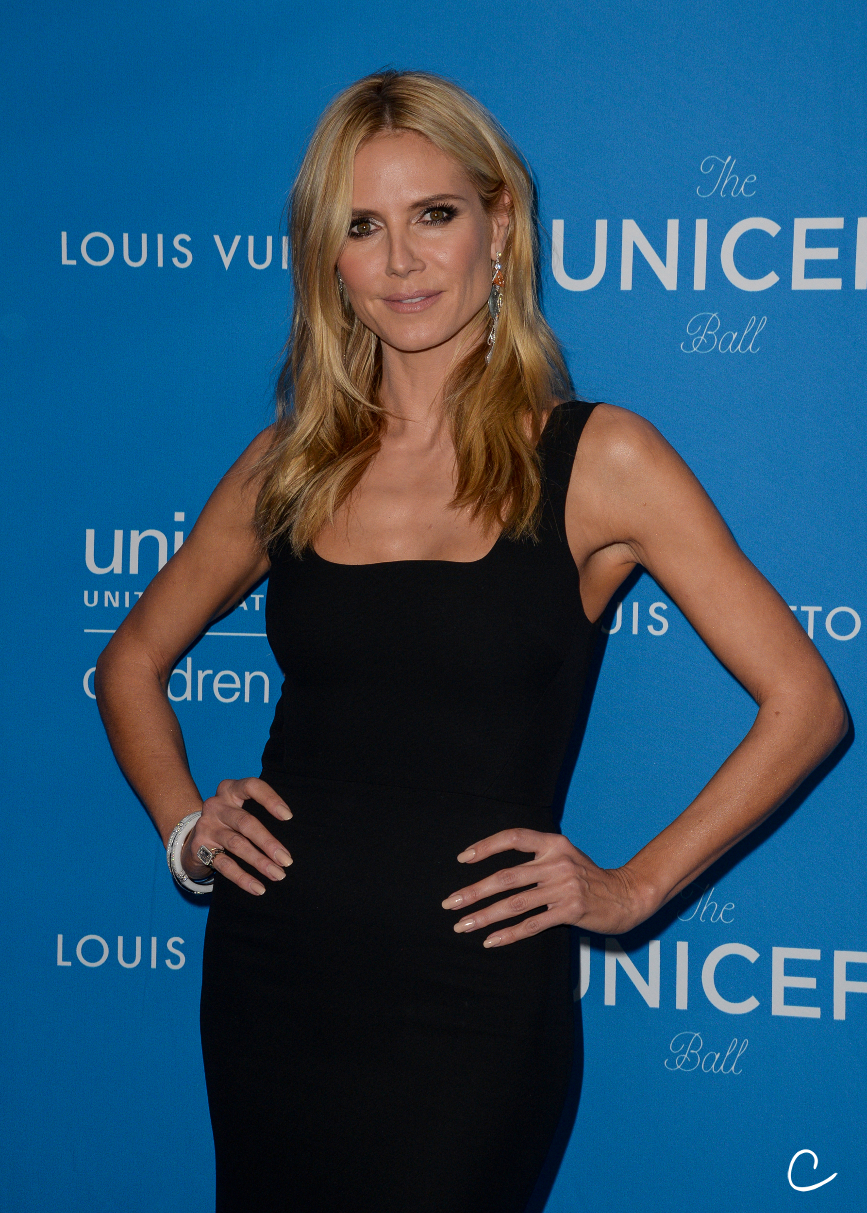 Heidi Klum attends the Sixth Annual UNICEF Ball on January 12, 2016 at the Beverly Wilshire Hotel, Beverly Hills, California. (Photo: Charlie Steffens/Gnarlyfotos)