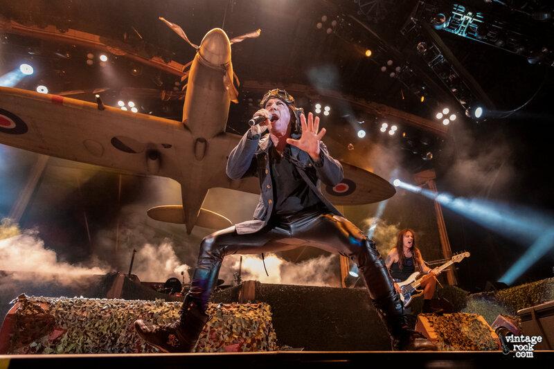 Bruce Dickinson Iron Maiden Los Angeles, CA 9-14-2019