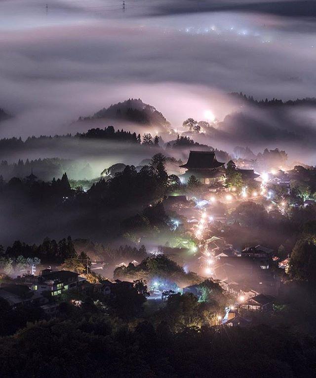 Yoshino Mountain, Japan Photo by @ta2funk