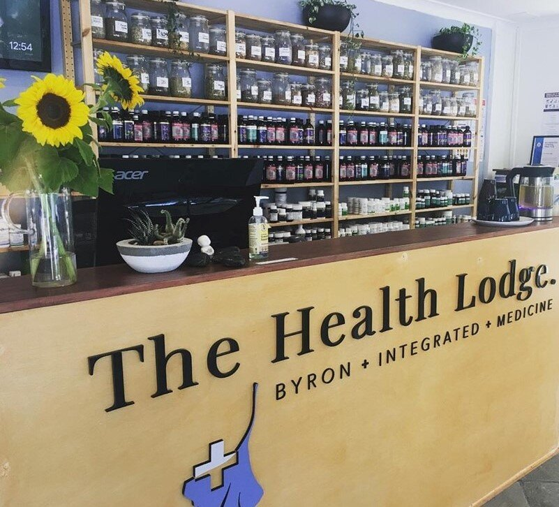 Herbal Dispensary - Our extensive herbal dispensary have qualified naturopaths available that can assist with a comprehensive range of evidence-based, high-quality herbal and nutritional medicines.Open Monday to Friday from 9am-5pm, our over-the-counter herbal dispensary not only offers affordable prices but also professional on-the-spot healthcare advice.If you have any questions about health and wellness or even feeling a little out of sorts, drop in and have a chat, we are located at 78 Bangalow Rd, Byron Bay, with easy on-site parking.
