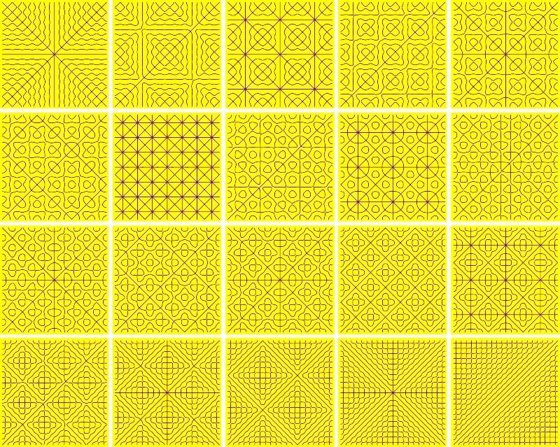 Chladni - yellow