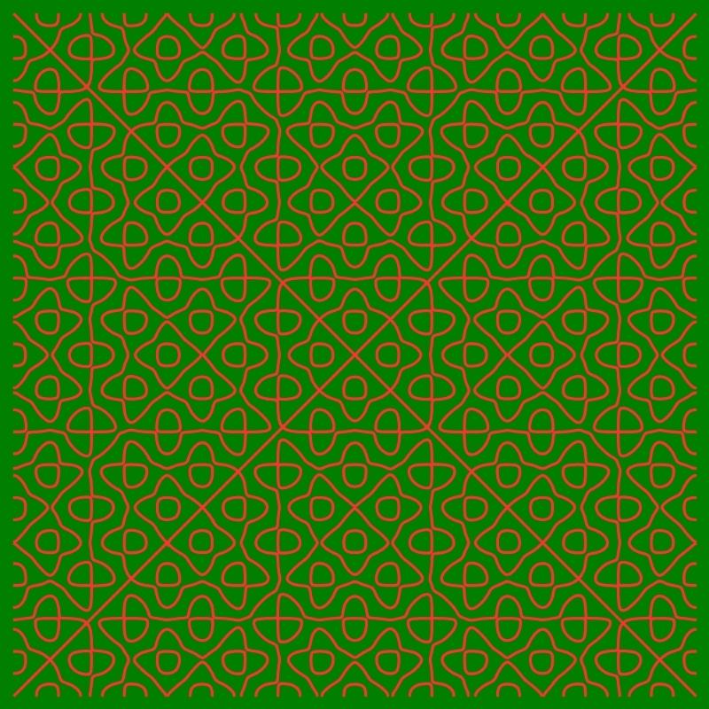 Chladni - green