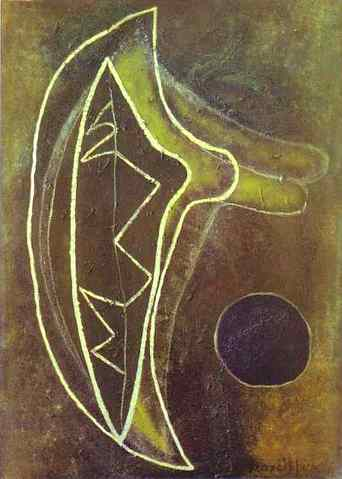 5. Francis Picabia, In Favour of Criticism, 1945, Oil on canvas, 103 x 75 cm.