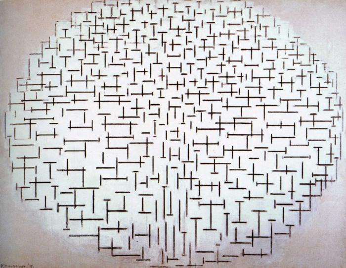 Image: The Pier 10, by Piet Mondrian