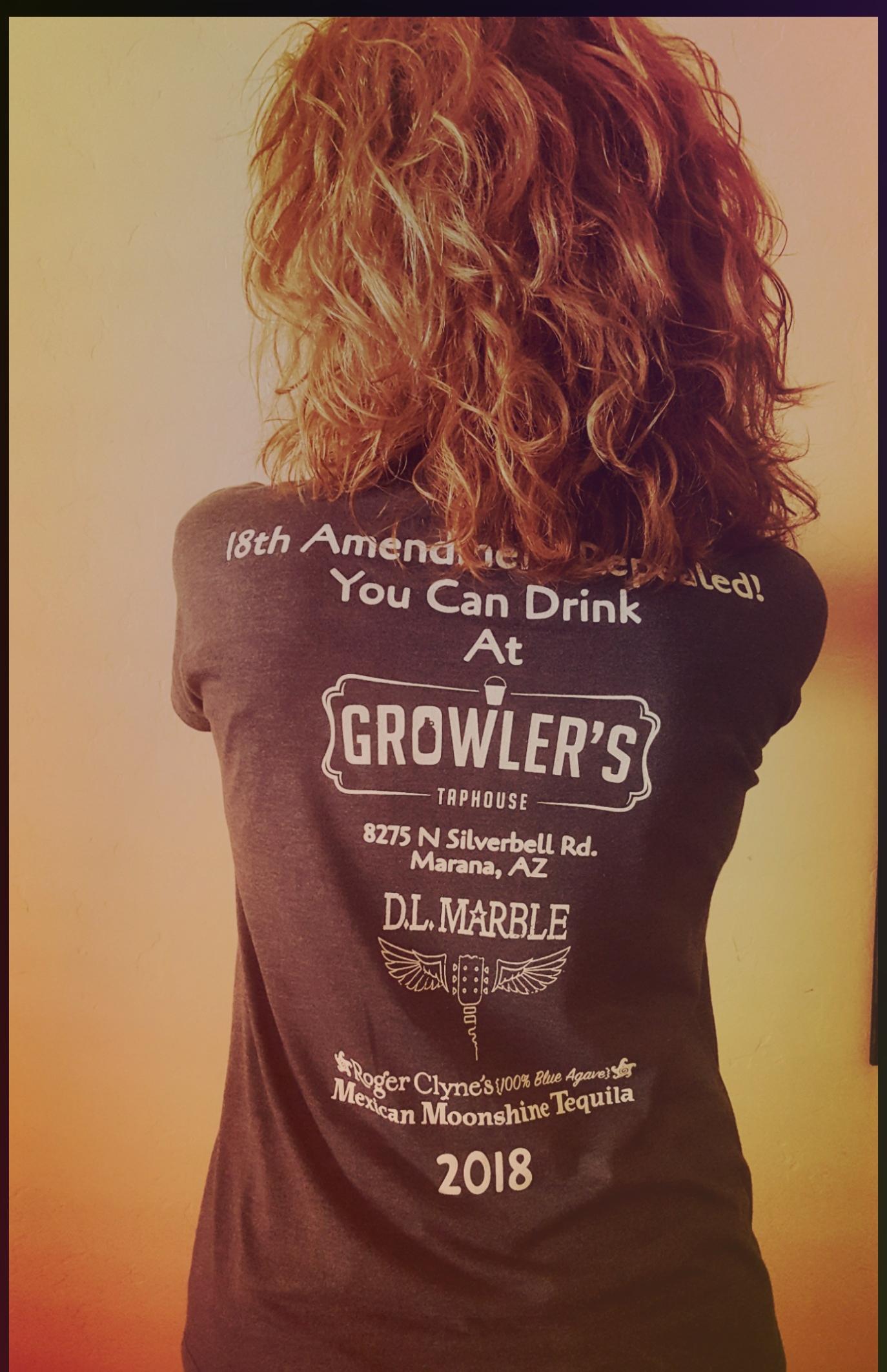 Growler's shirt