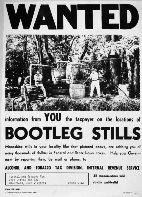 Internal Revenue Service poster, Cir. 1930 (Click for more)