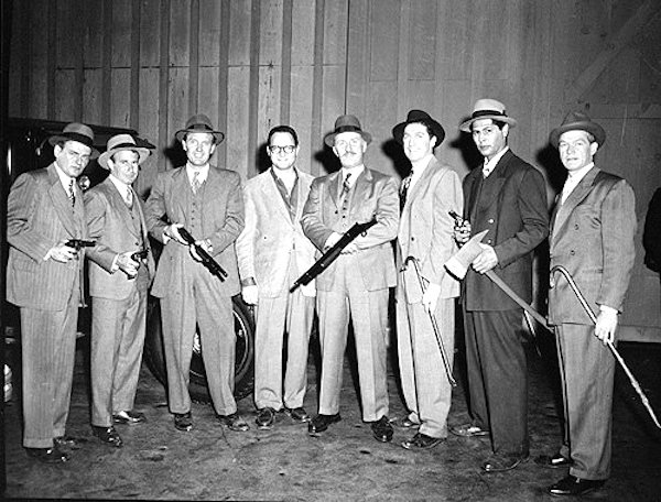 The real Eliot Ness and his team