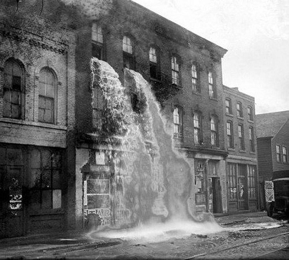 Detroit Liquor raid
