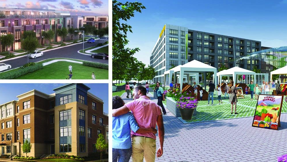 Towne Square at Suitland Federal Center - This $500 million mixed use project in Suitland will have 2 million square feet of space including 894 residential units, 125,000 square feet of retail space, and a 50,000 square foot cultural arts and technology center.