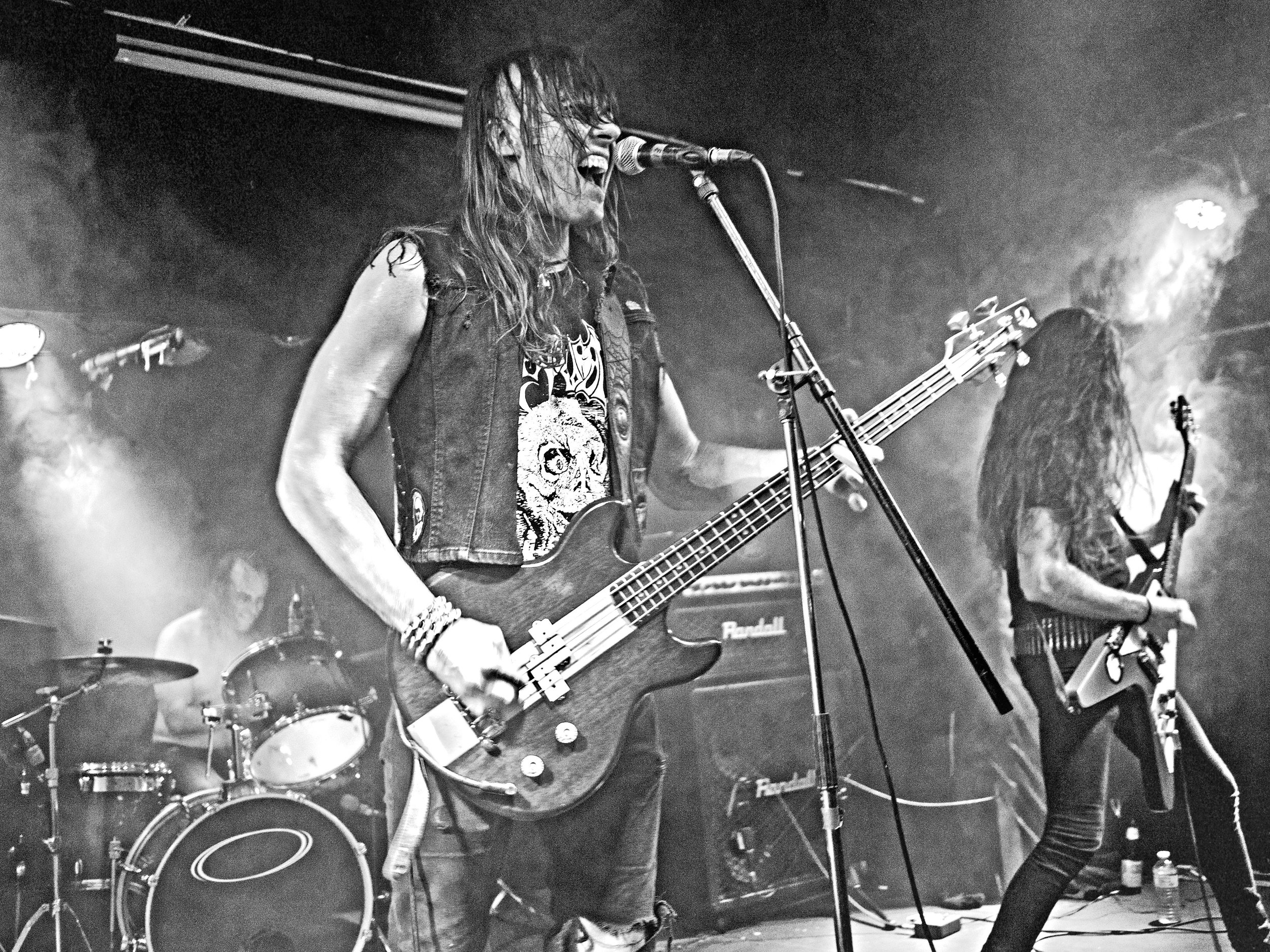 Occult Burial (Ottawa, ON)Witching metal coven conjuring primitive blackened thrash metal cacophonies that hails from the depths of depravation: Ottawa, Ontario. -