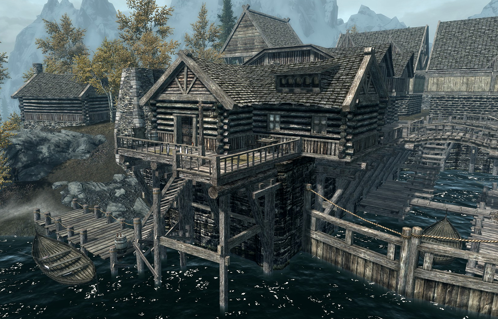 Image of the house you can purchase in Riften from the Elder Scrolls Wiki