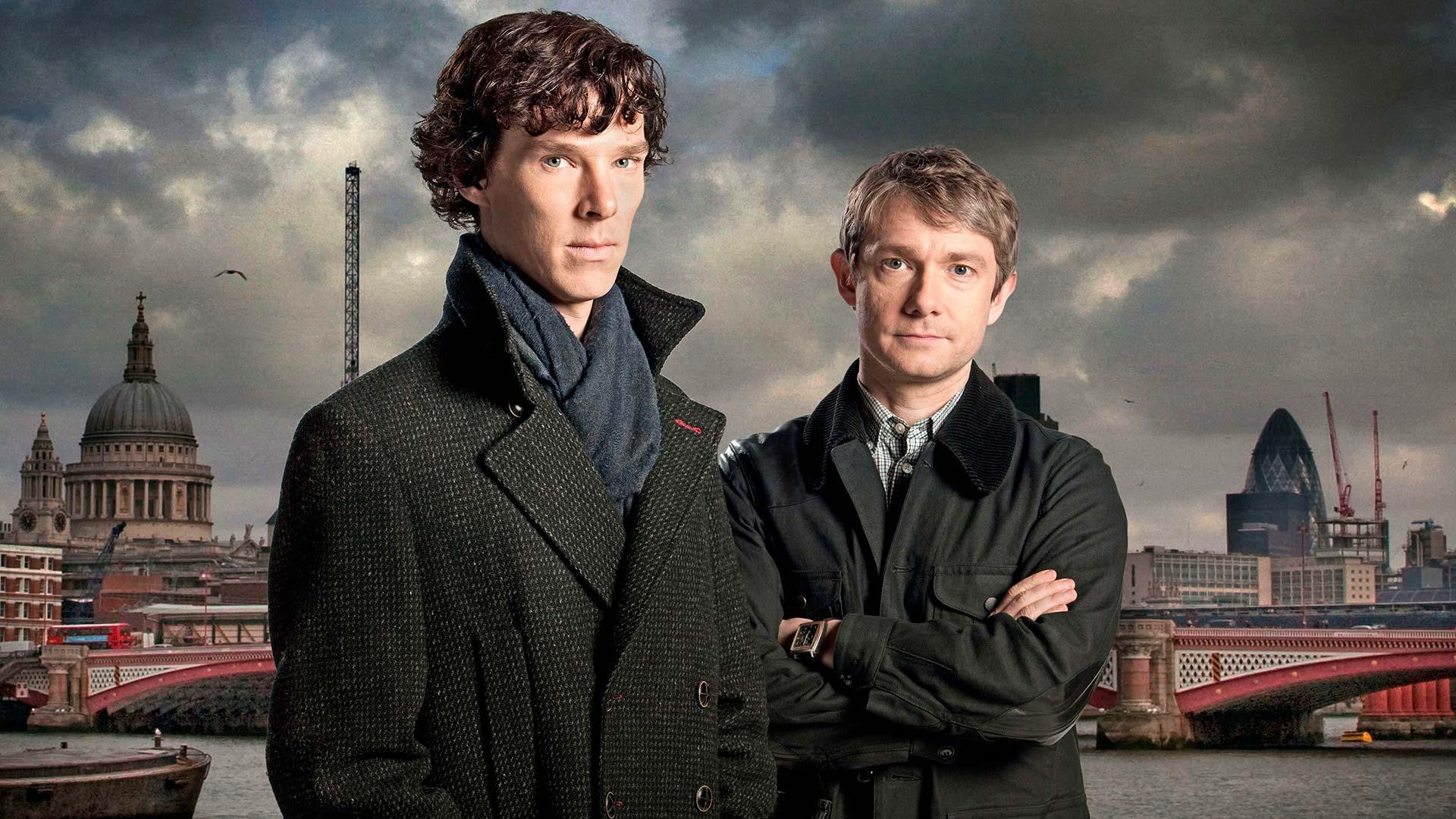 The modern adaptation of Sherlock Holmes from BBC America