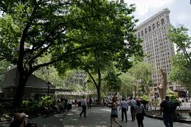 MoMath is located right in front of Madison Square Park, a lovely park between 23rd and 26th Streets between 5th Avenue and Madison Avenue. Don't confuse Madison Square Park with Madison Square Garden!