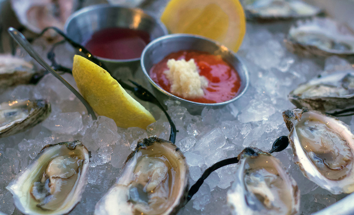 Our signature oyster, the Parker's Pearl, which is now being served at the Old Causeway, will be a focus of Long Beach Township's Shellebration on October 6.