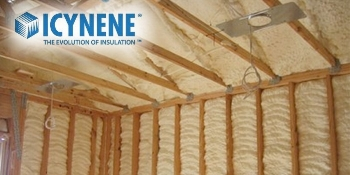 Leading the Way in Spray Foam Insulation  Since pioneering modern open-cell spray foam insulation,  Icynene  has become the spray foam insulation leader and one of the most familiar insulation products among builders. In fact, builders across the United States have come to trust  Icynene  spray foam insulation for performance, quality and innovation.