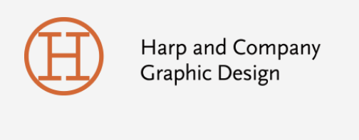Harp and Company Graphic Design logo.png