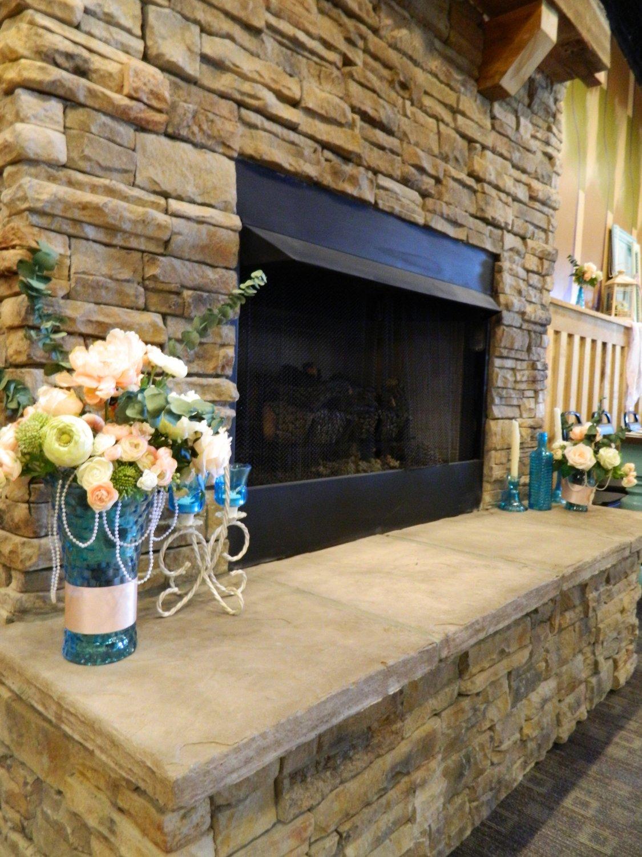 Patoka Lake Events Center Fireplace