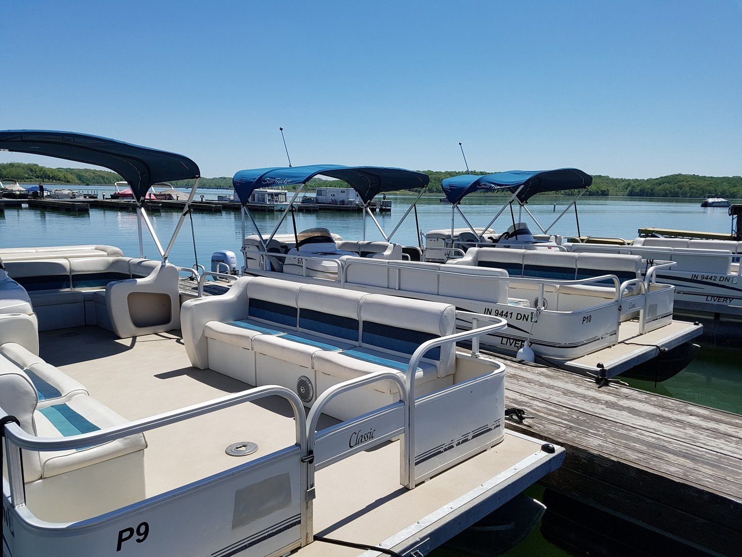 Pontoon Boats — Patoka Lake Marina & Lodging