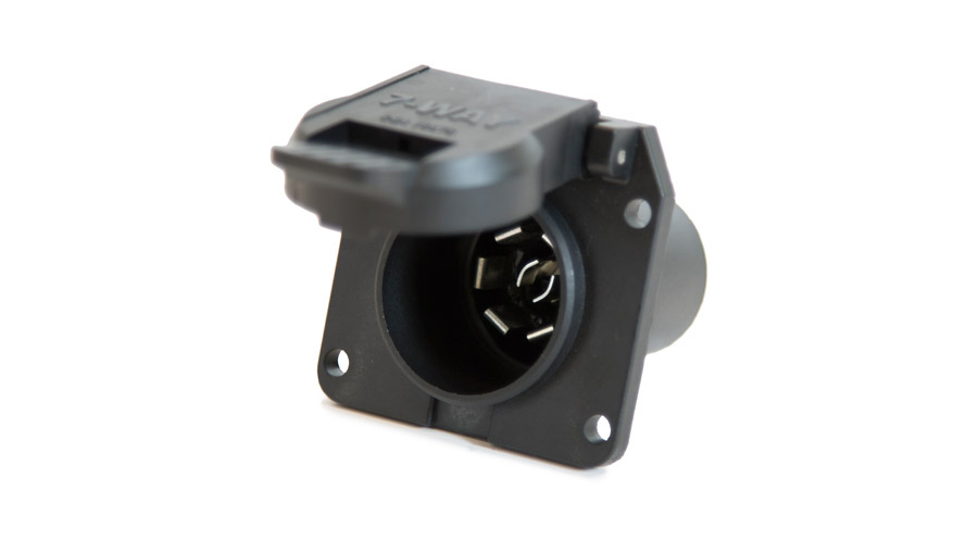 7 Wire/Prong Round Plug