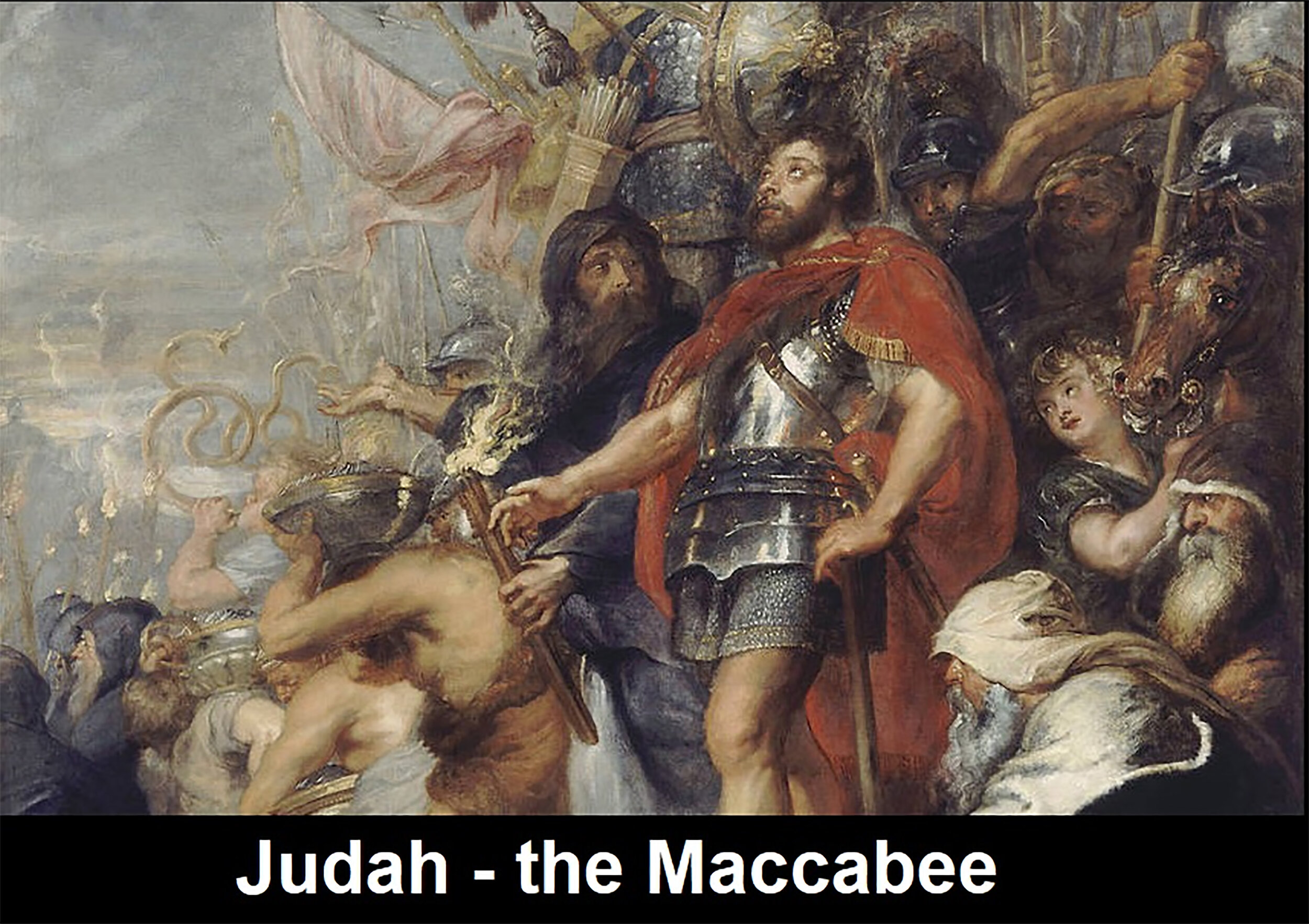"""The Maccabean Revolt cir. 164 AD Led to the First Feast of Dedication of the """"Cleansed Temple"""""""