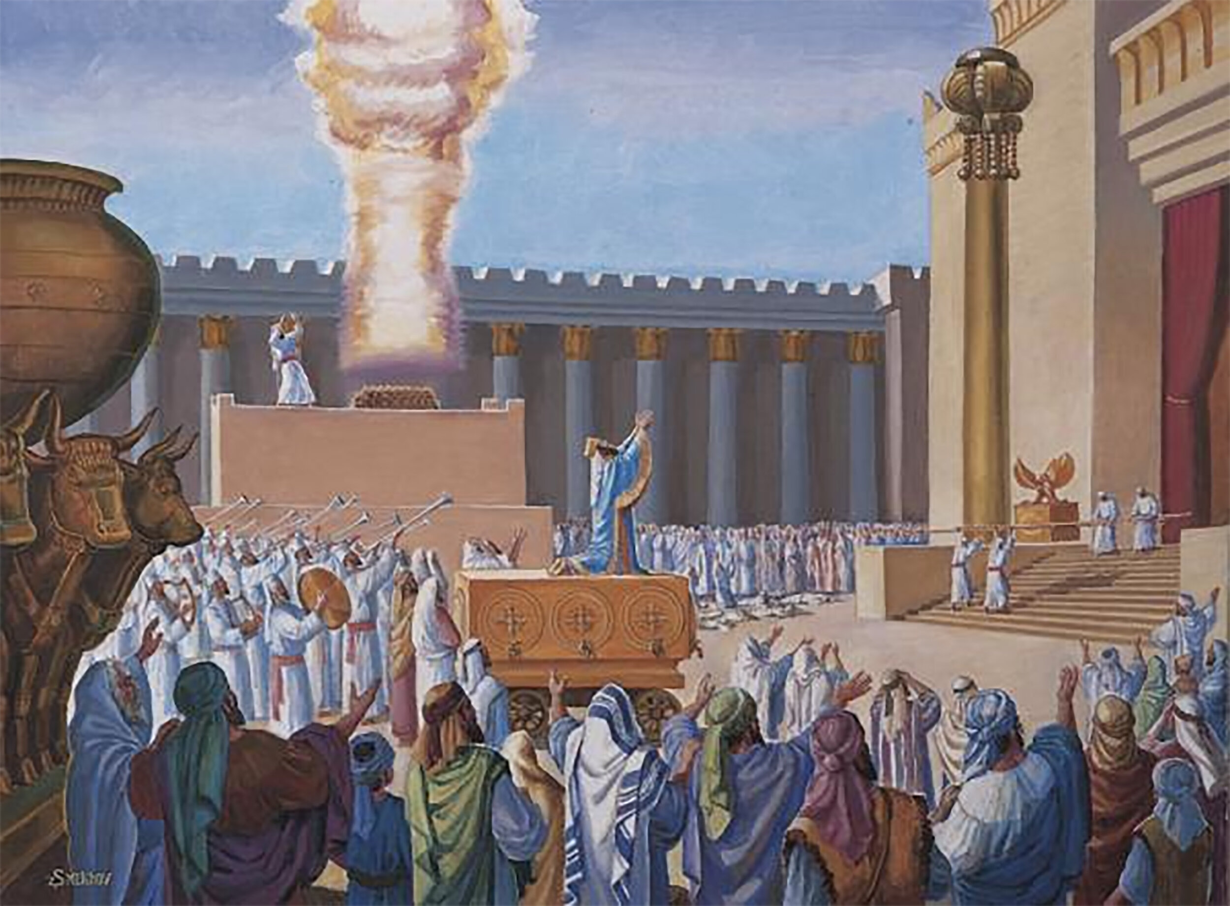 """THE GLORY OF THE FORMER HOUSE""  - THE SOLOMONIC TEMPLE"