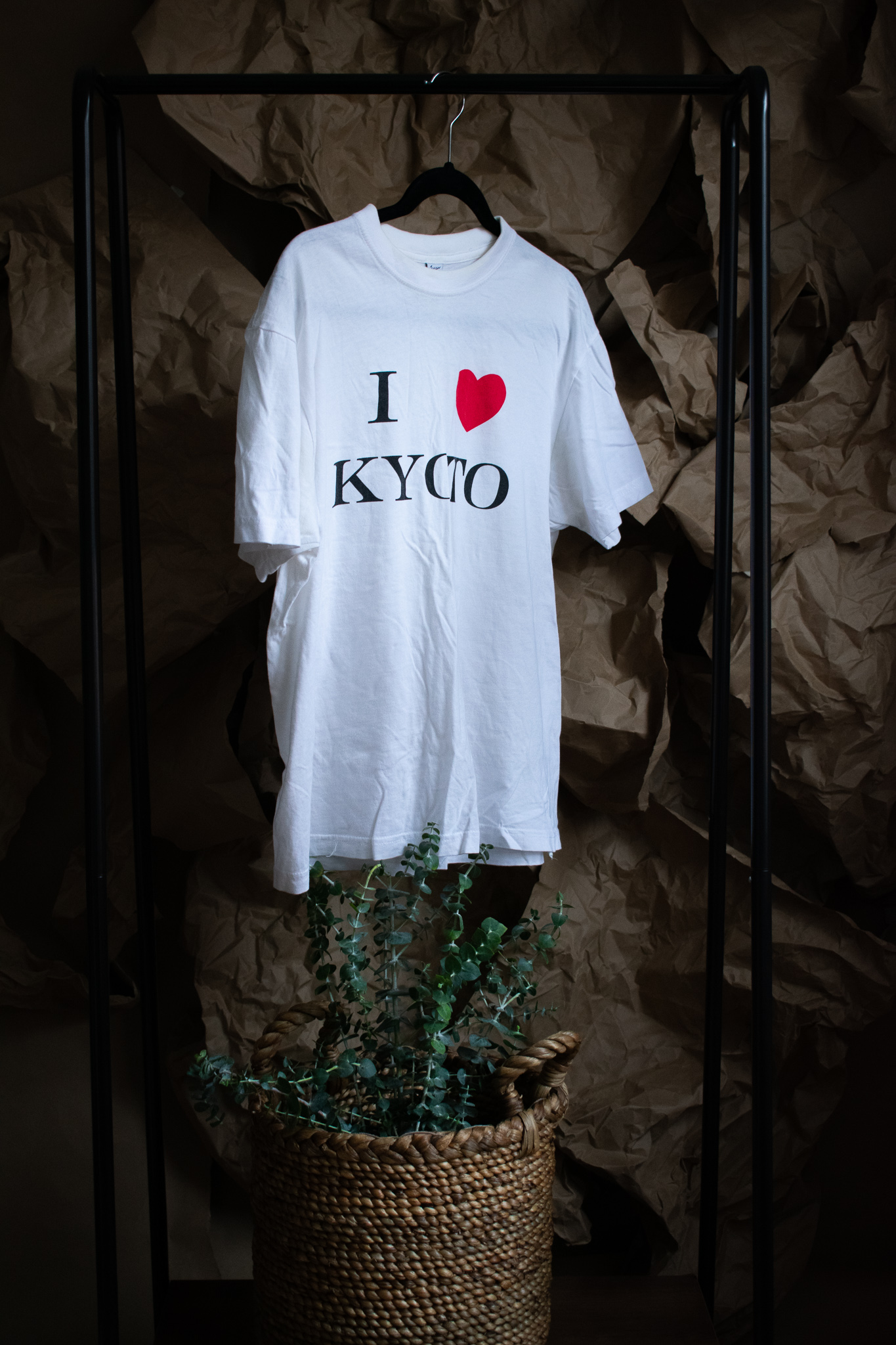 i <3 kyoto tee. 2 years. a gift. a little wear.