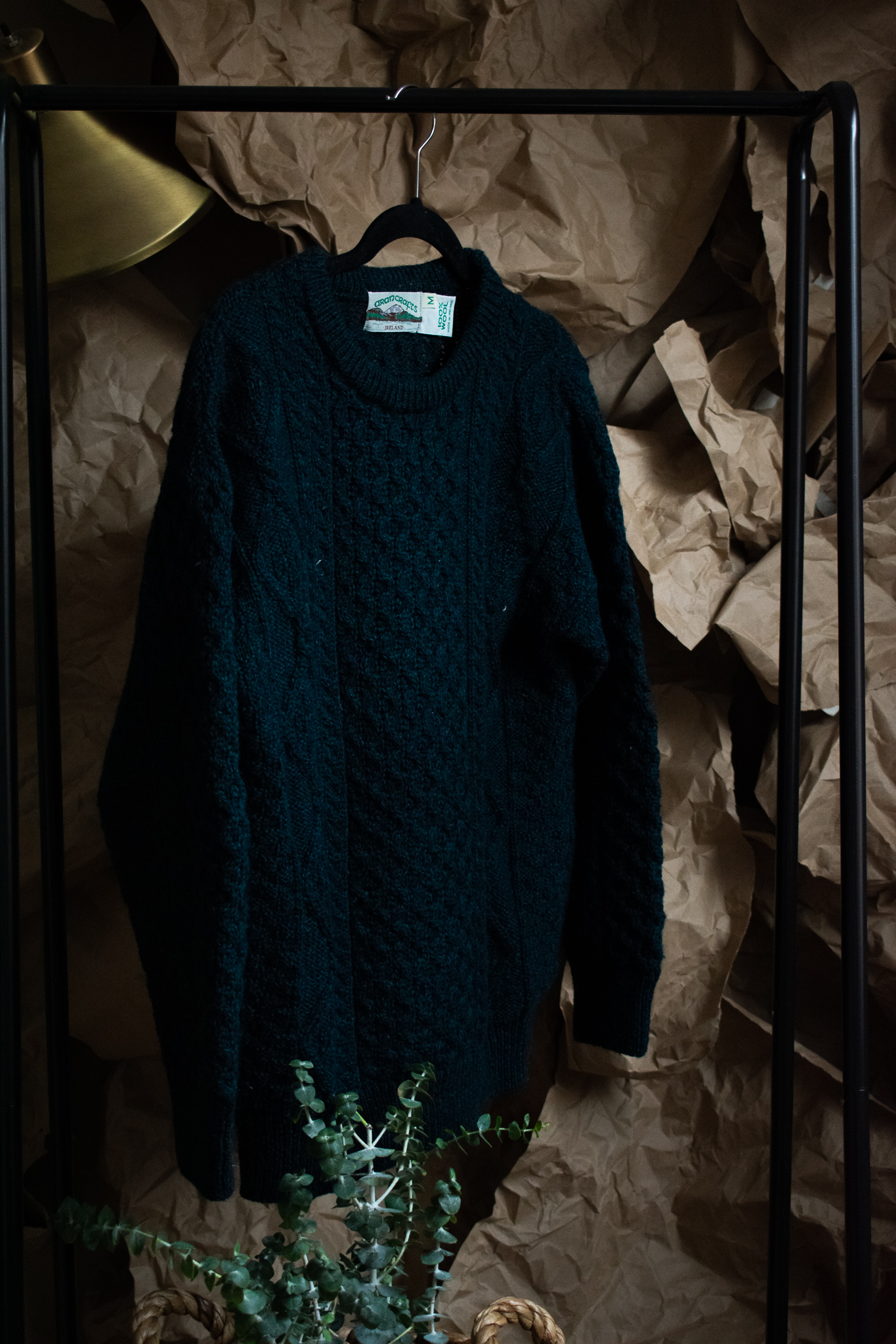 irish wool jumper. 4 years. $40. good as new.