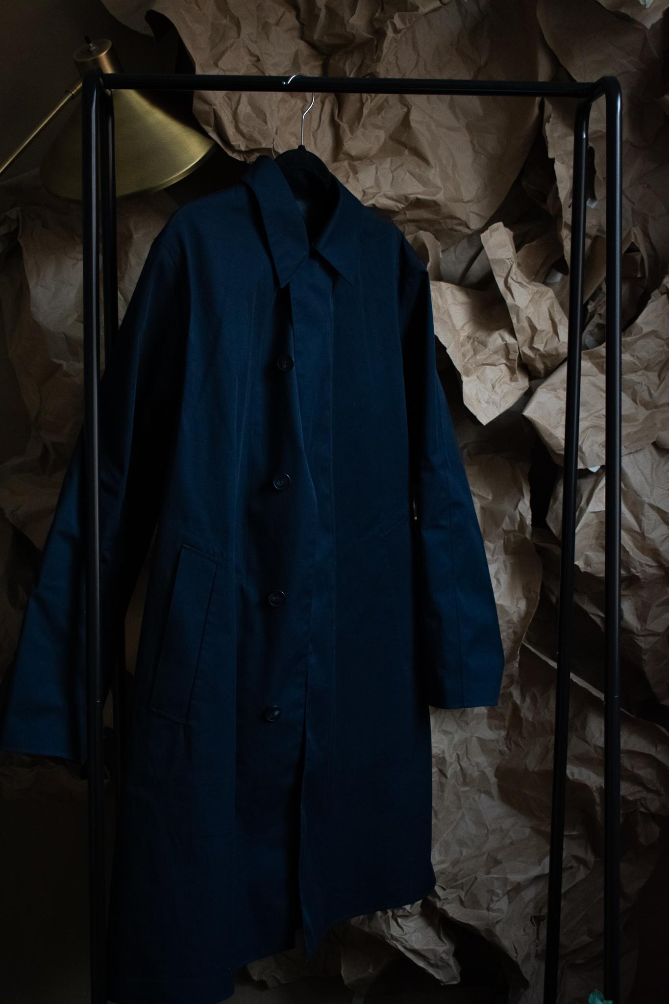 uniqlo block tech coat. <1 year. $80. good as new.