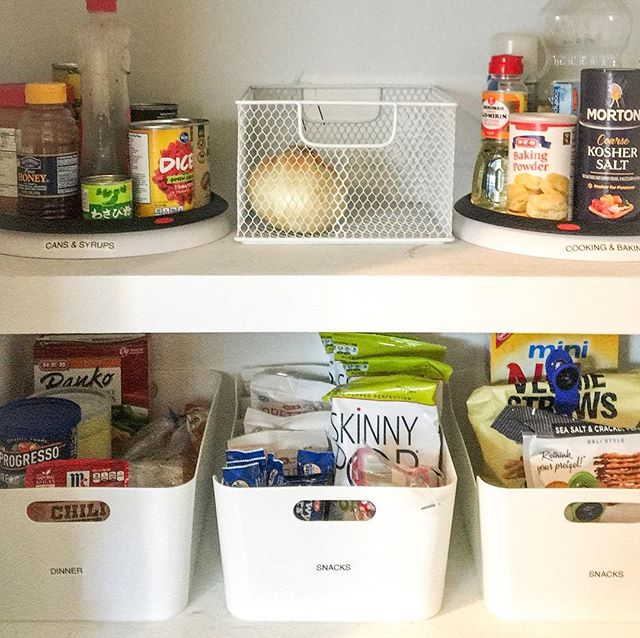 Do you have a true pantry or a cabinet for food storage? Either way, my organization methods remain the same. ⚪️ • 1️⃣ Take everything out, and give it a good wipe down. 2️⃣ Toss anything expired. 3️⃣ Sort your food into categories. 4️⃣ Store them in labeled bins to keep it that way. 5️⃣ Finally, here's the kicker... buy only what you need for the week & eat what you have. ⚪️ • If you're not doing that last step I challenge you to put a pause on grocery shopping until you work your way through some of the extras. Bonus: You can save yourself a little $$ in the process! ⚪️ • . . . .  #southernsequence #professionalorganizerhouston #pantrymakeover #houstonsmallbusiness #houstonorganizer #foodstorage #southernsequencechallenge