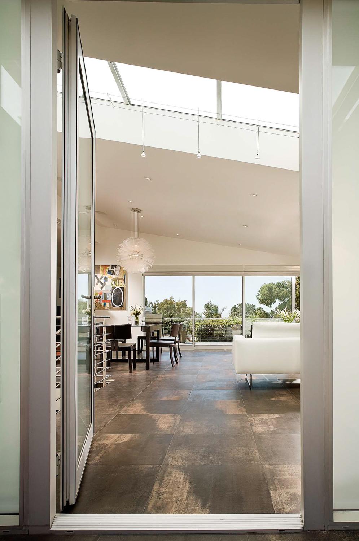Daylight interior with supplemental strobe lighting. Photographed for Orange Coast Magazine.